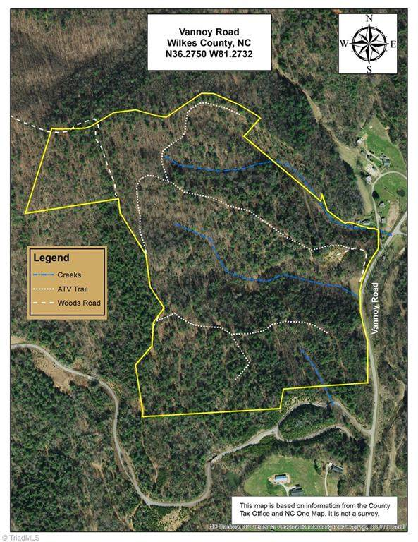 TBD 0 Vannoy Road Vannoy, Millers Creek, NC 28651 (MLS #1020451) :: Ward & Ward Properties, LLC