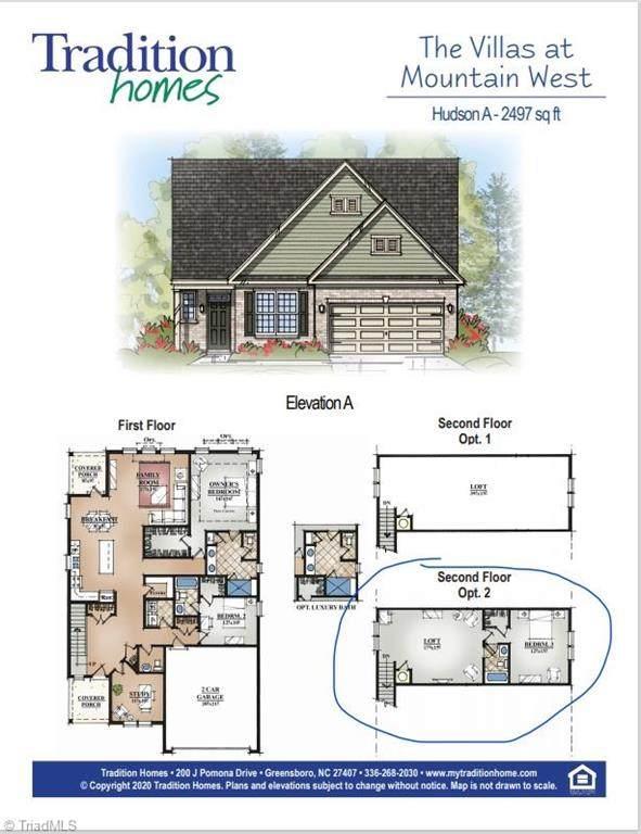 1427 Blooming Mountain Way, Kernersville, NC 27284 (MLS #1028158) :: Berkshire Hathaway HomeServices Carolinas Realty