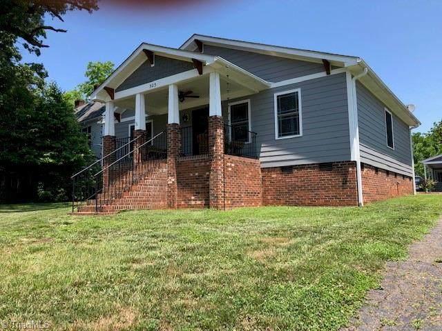 303 W Main Street, Pilot Mountain, NC 27041 (MLS #1028237) :: Ward & Ward Properties, LLC