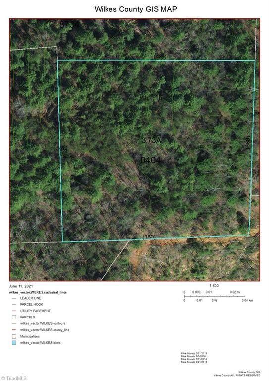Lot16 Brown Berry Road, North Wilkesboro, NC 28659 (MLS #1028379) :: Ward & Ward Properties, LLC