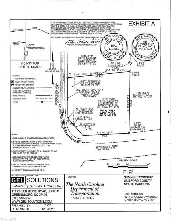 3717 Groometown Road Groometown, Greensboro, NC 27407 (MLS #1030668) :: Lewis & Clark, Realtors®