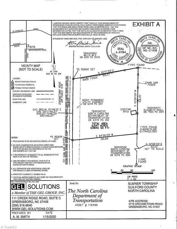 3715 Groometown Road Groometown, Greensboro, NC 27407 (MLS #1030669) :: Lewis & Clark, Realtors®