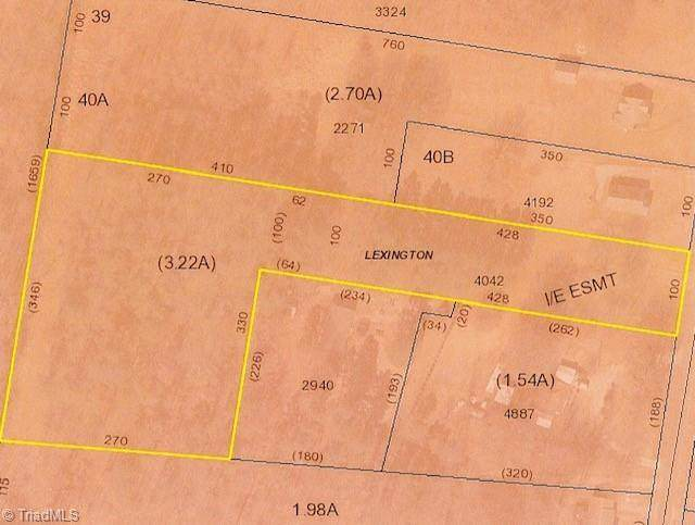 505A Moore Drive, Lexington, NC 27292 (MLS #1034541) :: Ward & Ward Properties, LLC