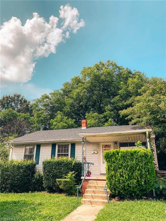 1215 11th Street, Greensboro, NC 27405 (MLS #1036515) :: Ward & Ward Properties, LLC