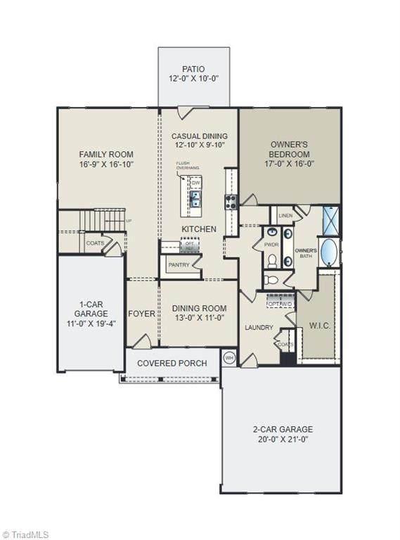 5631 Glad Acres Road, Pfafftown, NC 27040 (MLS #1038953) :: Ward & Ward Properties, LLC