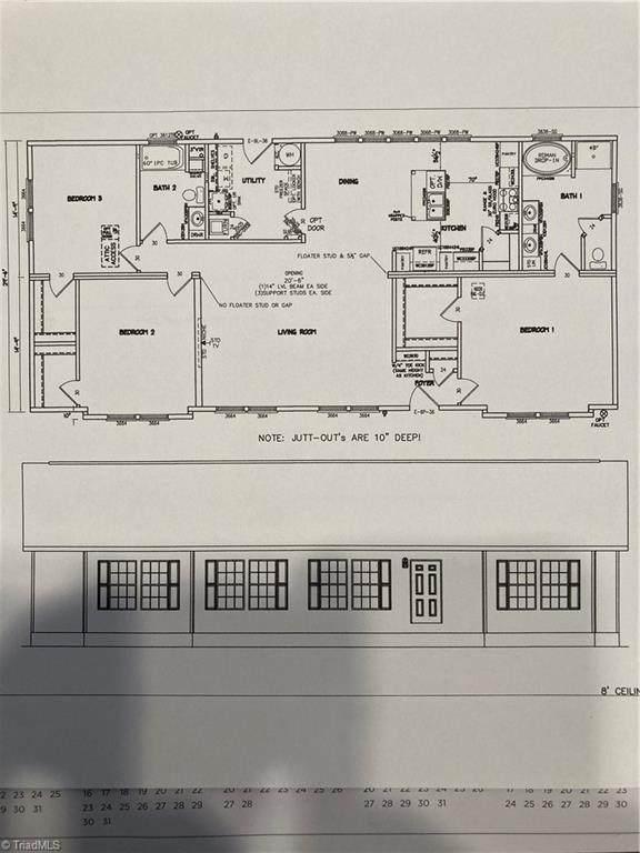 1002 Country Club Road, Yadkinville, NC 27055 (MLS #1040946) :: Ward & Ward Properties, LLC
