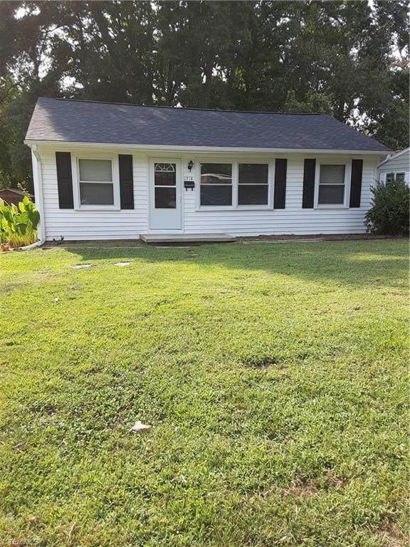 1714 Dunbar Street, Greensboro, NC 27401 (MLS #1042143) :: Ward & Ward Properties, LLC