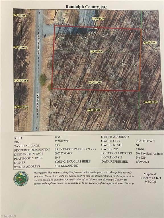 0 Vista Parkway, Asheboro, NC 27203 (MLS #1042188) :: Ward & Ward Properties, LLC
