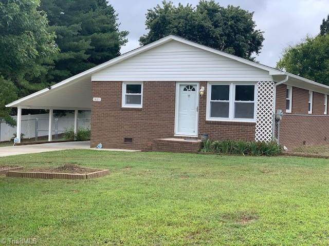 1023 John Young Road, Lexington, NC 27292 (MLS #1042907) :: Witherspoon Realty