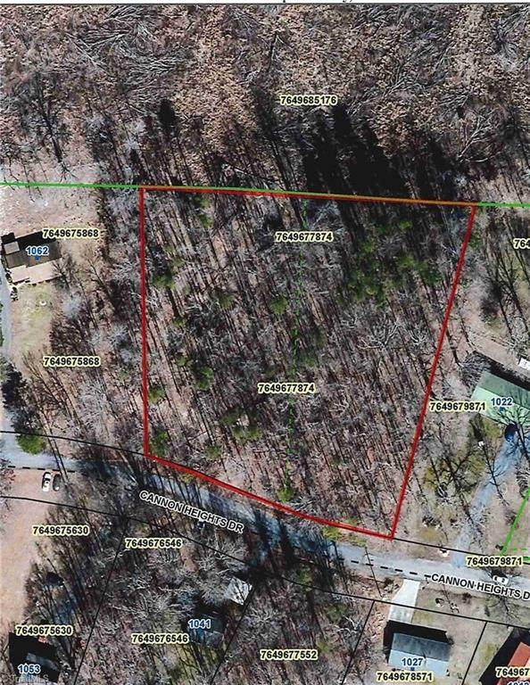 0 Cannon Heights Drive, Asheboro, NC 27205 (#1043271) :: Mossy Oak Properties Land and Luxury