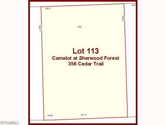 356 Cedar Trail, Winston Salem, NC 27104 (MLS #843525) :: Kristi Idol with RE/MAX Preferred Properties