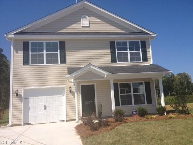 404 Carter Ridge Drive Lot 46, Reidsville, NC 27320 (MLS #854825) :: Kristi Idol with RE/MAX Preferred Properties