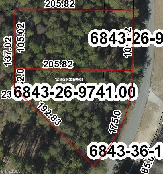 0 Morning Star Lane, Winston Salem, NC 27107 (MLS #858412) :: Banner Real Estate