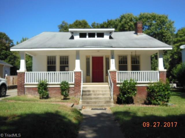 1929 Gaston Street, Winston Salem, NC 27127 (MLS #861919) :: Banner Real Estate