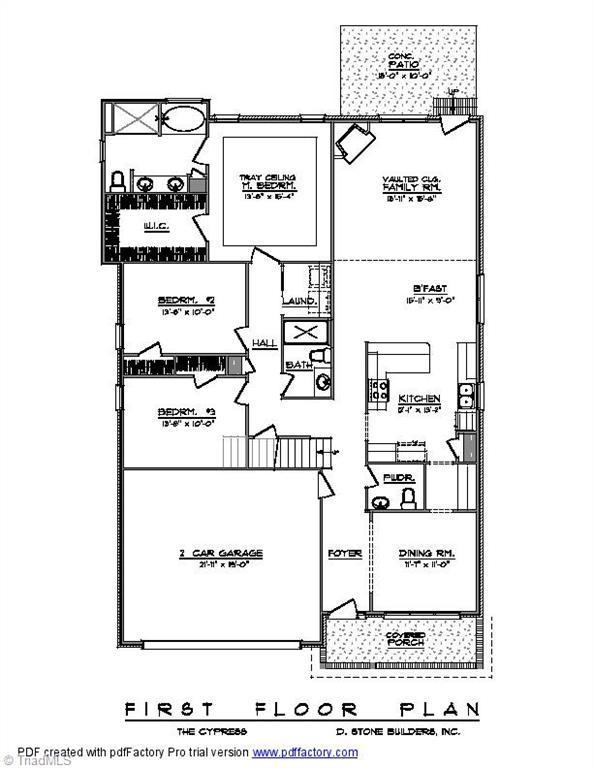 206 Jordan Crossing Avenue, Jamestown, NC 27282 (MLS #862194) :: Lewis & Clark, Realtors®