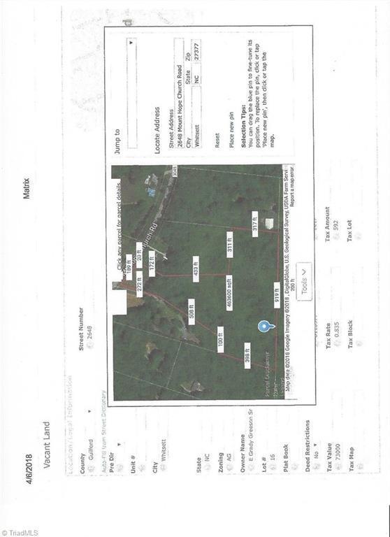2648 Mount Hope Church Road, Whitsett, NC 27377 (MLS #881705) :: Lewis & Clark, Realtors®