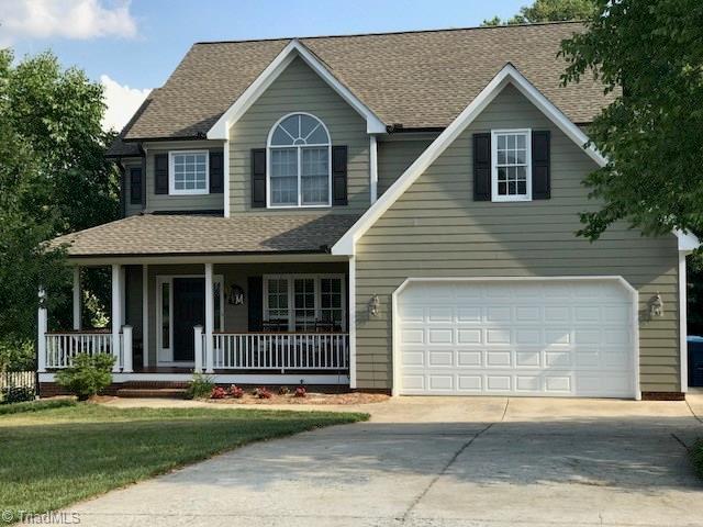 3503 Vernon Woods Drive, Summerfield, NC 27358 (MLS #891833) :: Lewis & Clark, Realtors®