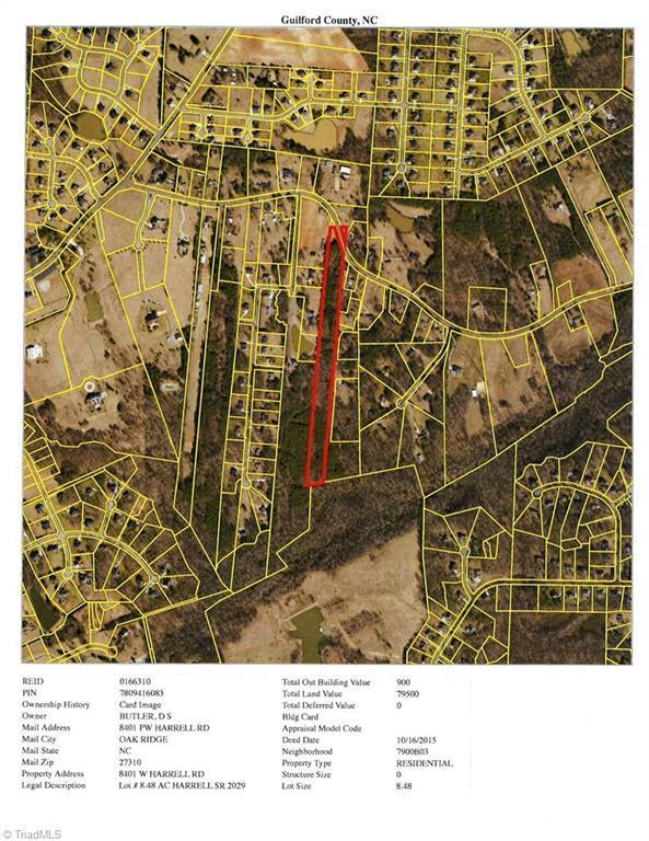 8401 Harrell Road, Oak Ridge, NC 27310 (MLS #902138) :: Kristi Idol with RE/MAX Preferred Properties