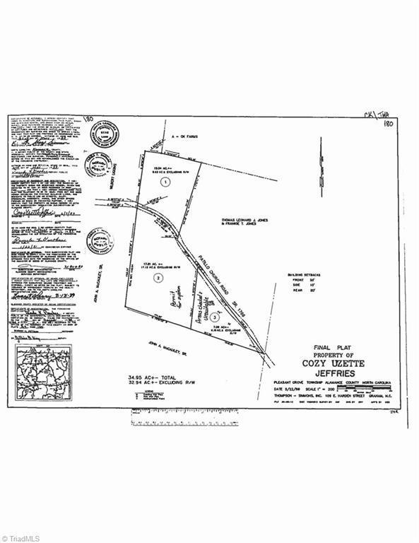 0 Patillo Church Road, Burlington, NC 27217 (MLS #908611) :: Lewis & Clark, Realtors®