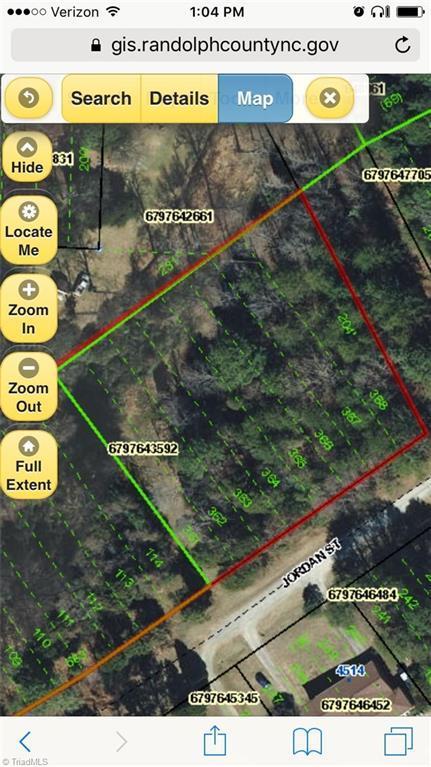 0 Jordan Street, Trinity, NC 27370 (MLS #913377) :: Ward & Ward Properties, LLC