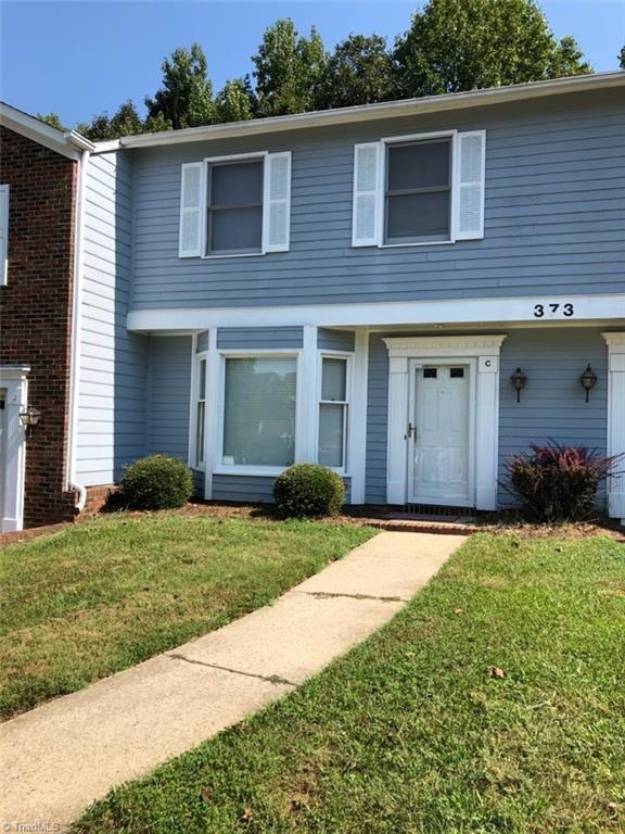 373 E Montcastle Drive C, Greensboro, NC 27406 (MLS #914636) :: NextHome In The Triad