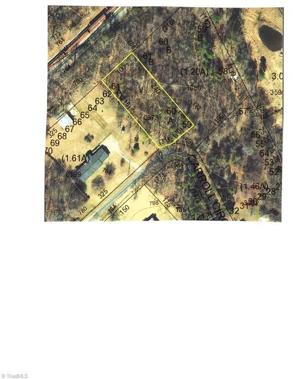 0 Carroll Circle, Thomasville, NC 27360 (MLS #915760) :: Ward & Ward Properties, LLC