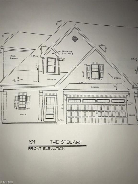 1671 Angus Ridge Drive, Kernersville, NC 27284 (MLS #919234) :: Kristi Idol with RE/MAX Preferred Properties