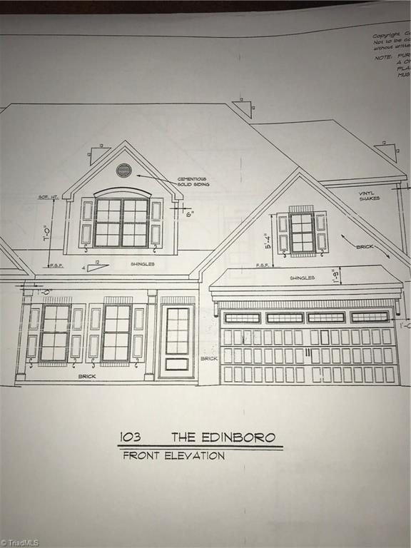 1679 Angus Ridge Drive, Kernersville, NC 27284 (MLS #919236) :: Kristi Idol with RE/MAX Preferred Properties