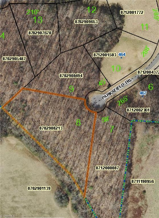 0 Parksfield Trail, Ramseur, NC 27316 (MLS #919523) :: Ward & Ward Properties, LLC