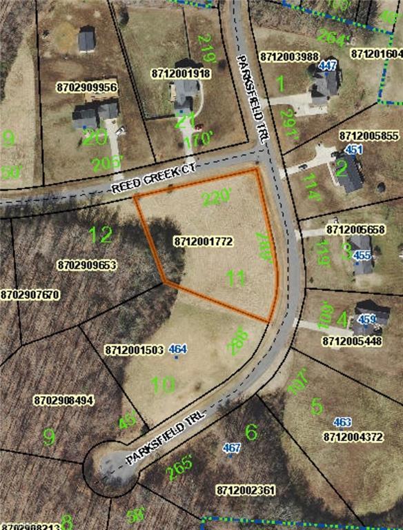 0 Parksfield Trail, Ramseur, NC 27316 (MLS #919528) :: Ward & Ward Properties, LLC