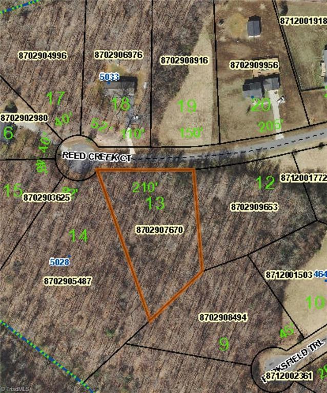 0 Reed Creek Court, Ramseur, NC 27316 (MLS #919536) :: Ward & Ward Properties, LLC