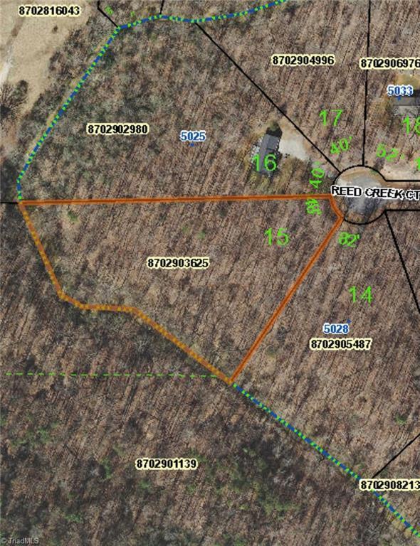 0 Reed Creek Court, Ramseur, NC 27316 (MLS #919538) :: Ward & Ward Properties, LLC