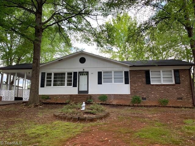 161 Marconi Street, Mocksville, NC 27028 (MLS #936411) :: Berkshire Hathaway HomeServices Carolinas Realty