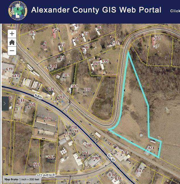 424 Hammer Road, Taylorsville, NC 28681 (MLS #943834) :: Berkshire Hathaway HomeServices Carolinas Realty