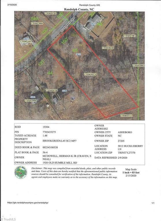 5812 Huckleberry Lane, Trinity, NC 27370 (#966535) :: Premier Realty NC