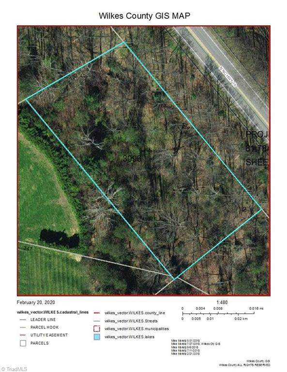 N Nc Highway 16, Millers Creek, NC 28651 (MLS #967108) :: Ward & Ward Properties, LLC