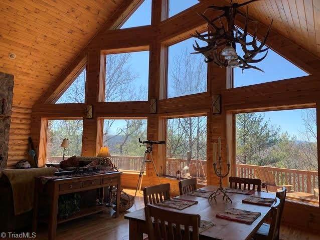 462 Casey Mountain Road, Purlear, NC 28665 (MLS #969320) :: Ward & Ward Properties, LLC
