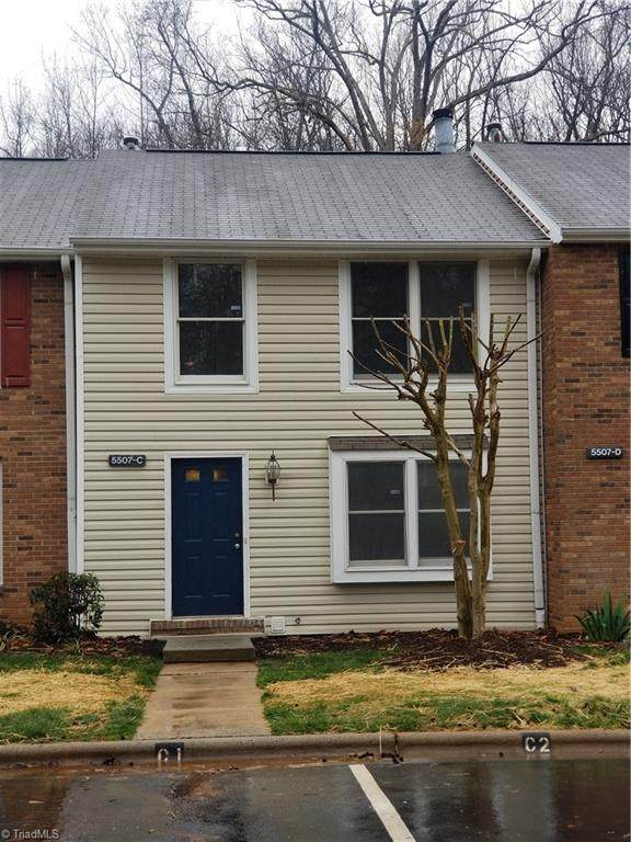5507 Richland Street C, Greensboro, NC 27409 (MLS #971045) :: Berkshire Hathaway HomeServices Carolinas Realty