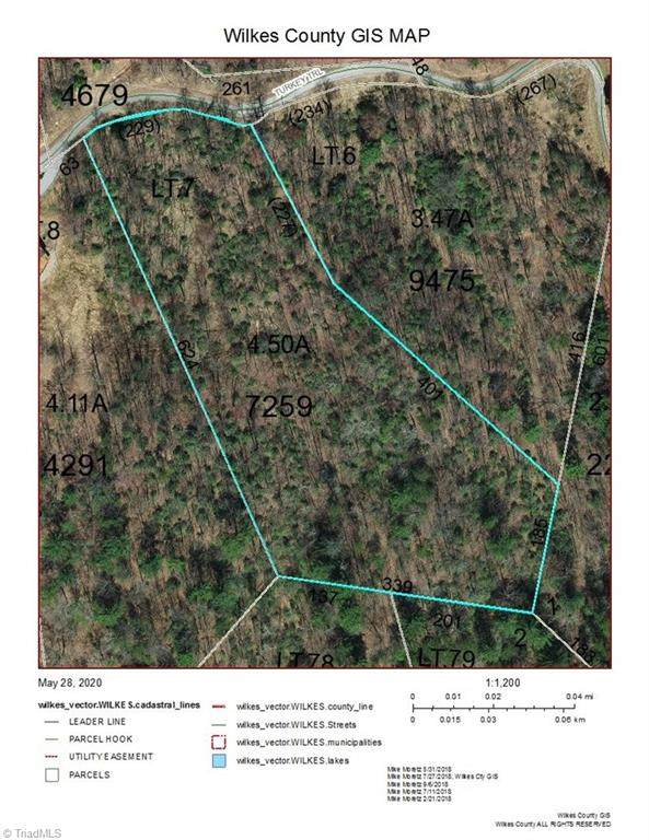 TBD Turkey Trail, Mcgrady, NC 28649 (MLS #979261) :: Ward & Ward Properties, LLC