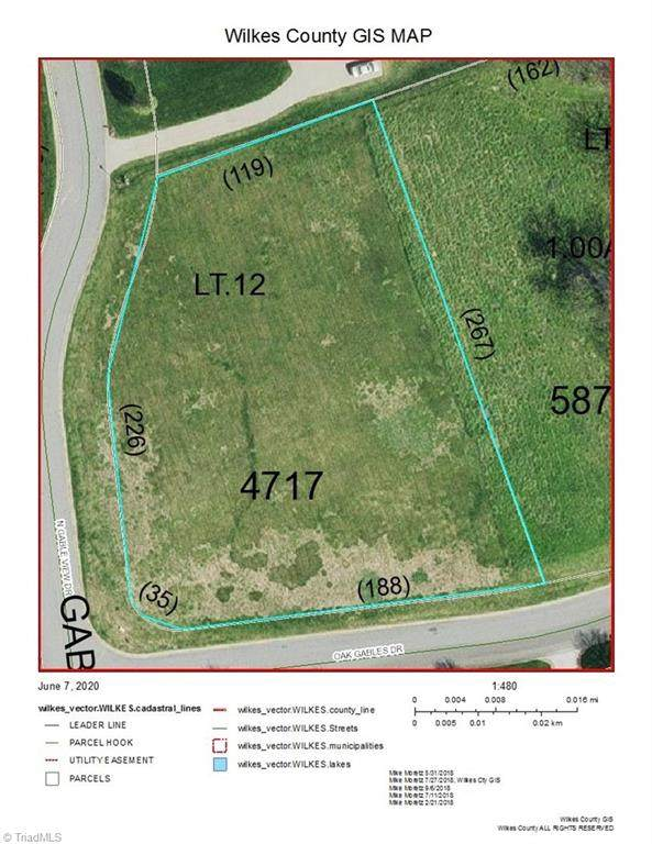 Lot 12 Oak Gables Drive, Wilkesboro, NC 28697 (MLS #979991) :: Ward & Ward Properties, LLC