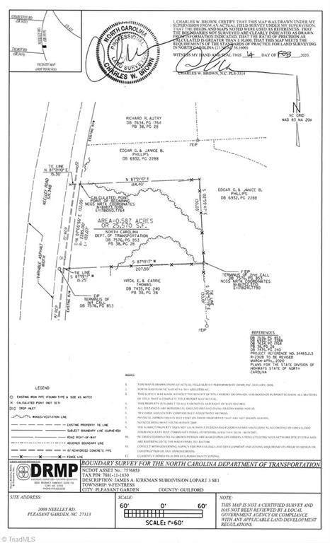 2008 Neelley Road, Pleasant Garden, NC 27313 (MLS #983505) :: Lewis & Clark, Realtors®