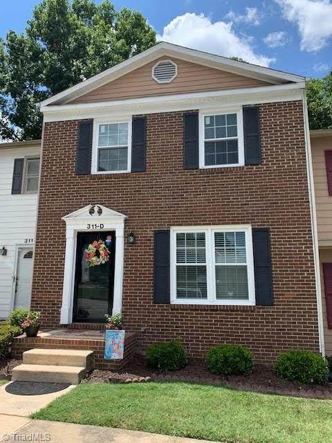 311 Montcastle Drive D, Greensboro, NC 27406 (MLS #984446) :: Lewis & Clark, Realtors®