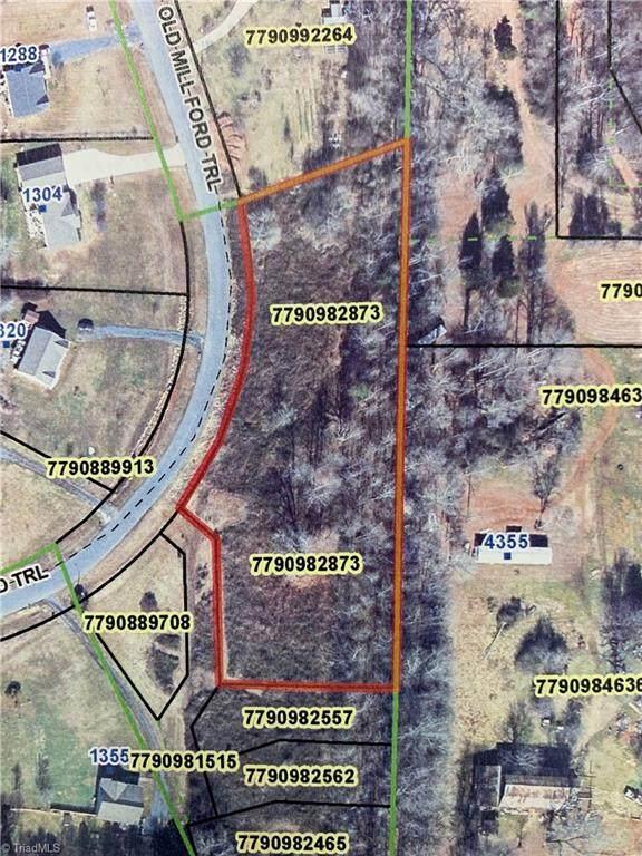 00 Old Mill Ford Trail, Asheboro, NC 27205 (MLS #1038611) :: Ward & Ward Properties, LLC