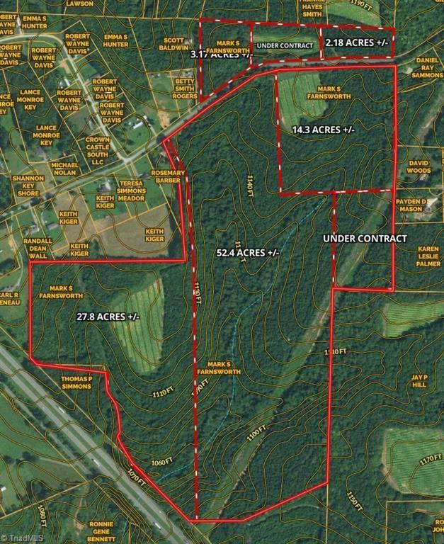 00 Surry Gadsberry Road #14, Pilot Mountain, NC 27041 (MLS #1045986) :: Ward & Ward Properties, LLC