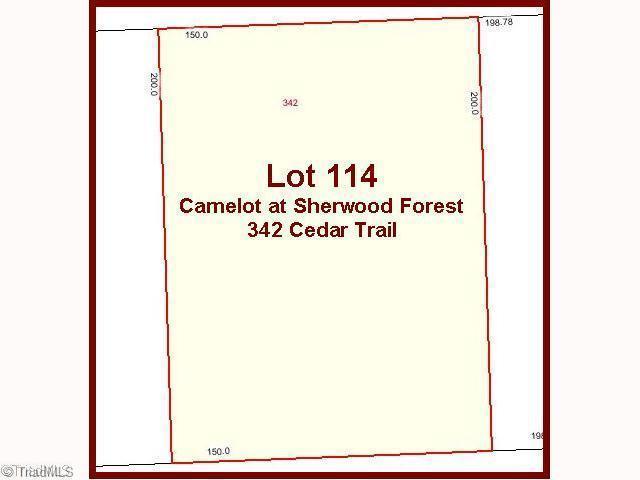 342 Cedar Trail, Winston Salem, NC 27104 (MLS #560981) :: Kristi Idol with RE/MAX Preferred Properties