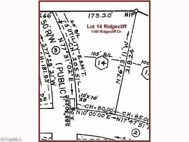 1145 Ridgecliff Drive, Rural Hall, NC 27045 (MLS #569548) :: RE/MAX Impact Realty