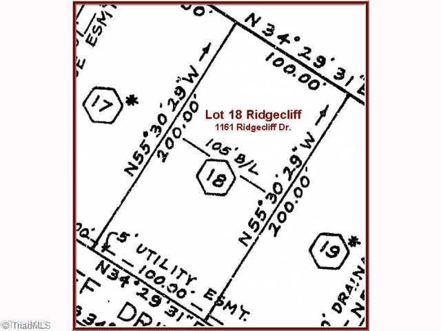 1161 Ridgecliff Drive, Rural Hall, NC 27045 (MLS #569564) :: Lewis & Clark, Realtors®
