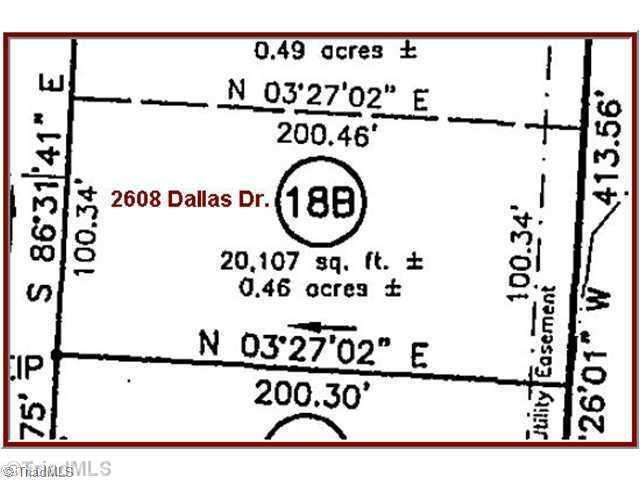 2608 Dallas, Winston Salem, NC 27107 (MLS #714039) :: Kristi Idol with RE/MAX Preferred Properties