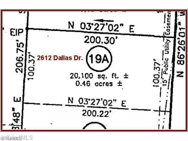 2612 Dallas, Winston Salem, NC 27107 (MLS #714040) :: Ward & Ward Properties, LLC