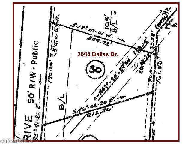 2605 Dallas, Winston Salem, NC 27107 (MLS #714057) :: Ward & Ward Properties, LLC